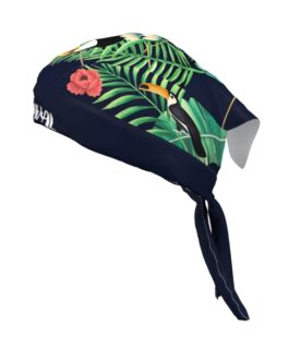 Bandana Costurada Tropical