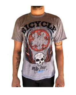 Camiseta Casual Bicycle – Arrival